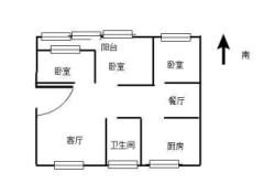 東平縣清華苑3室2廳1衛125m2簡單裝修