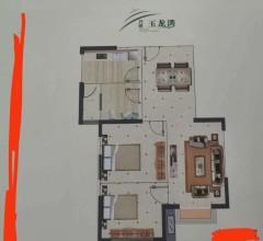 东平县万博北京湾2室2厅1卫80m²毛坯房