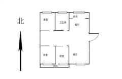 東平縣名仕佳苑3室2廳1衛125m2簡單裝修