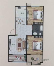 东平县清河小学附近,电梯毛坯2室2厅1卫全款出售48万