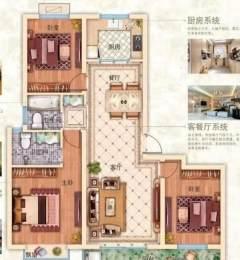 东平县鑫海·翰林苑3室2厅2卫118m²毛坯房