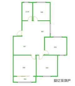 东平县东山水岸3室2厅1卫94.13m²