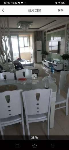 东平县港基文华园东区,电梯两室,精装拎包入住。年租14000