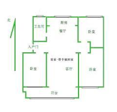 东平西城区)书香雅居3室2厅1卫