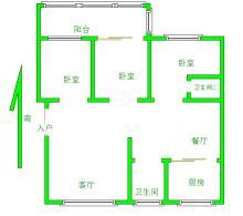 东平县盛世常春藤3室2厅1卫98万125m²精装修出售