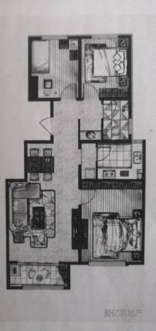 东平圣都山水城二期 毛坯房出售 三室两厅 高级中学 送储藏室车位 可分期