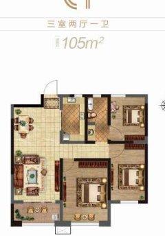 东平县实验中学西校区康桥丹郡4室2厅2卫72万105m²出售
